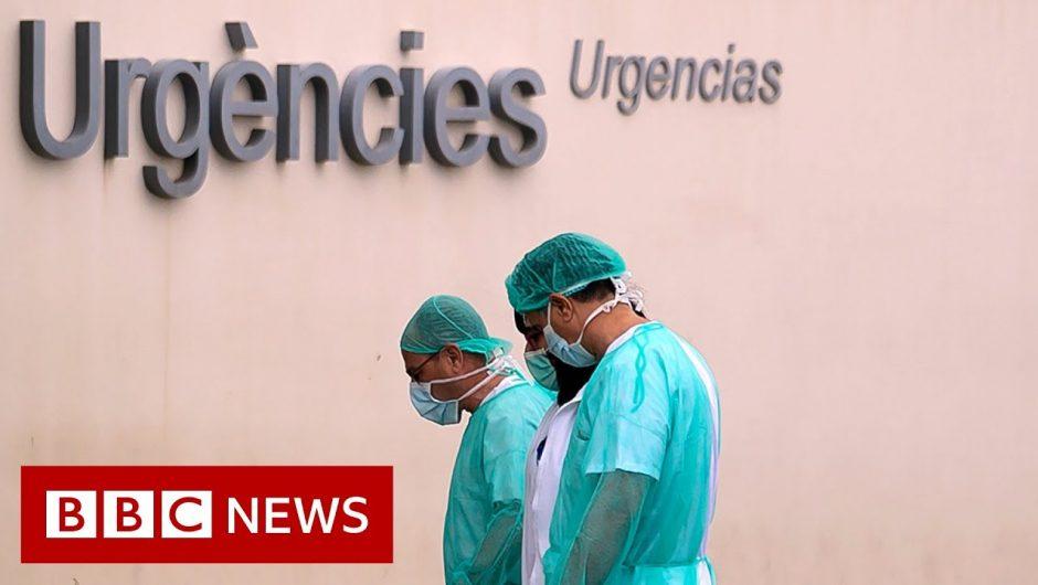 Coronavirus: Spain's death toll surpasses China's – BBC News
