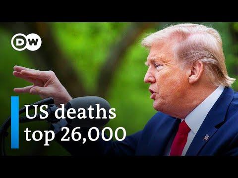 Coronavirus: Trump halts WHO funds amid falling poll numbers   DW News