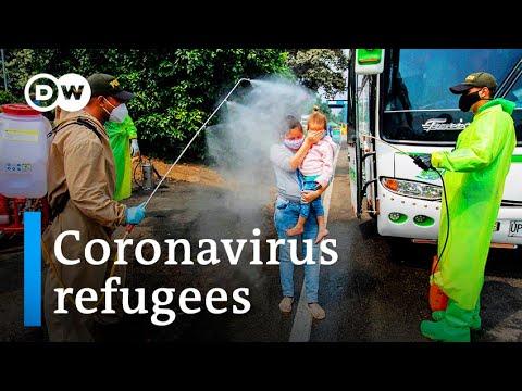 Coronavirus leaves Venezuelan migrants in limbo   DW News