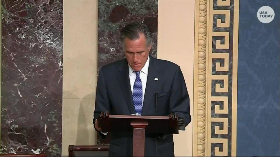Sen. Mitt Romney was the only GOP senator not invited on Trump's new coronavirus advisory group