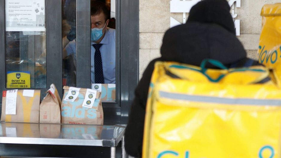 A cluster of coronavirus cases linked to two McDonald's locations sickens at least 12 people