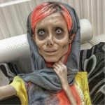 Instagram star 'Zombie Angelina Jolie' gets coronavirus in Iranian jail