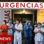 Coronavirus: Spanish deaths fall for fourth consecutive day – BBC News