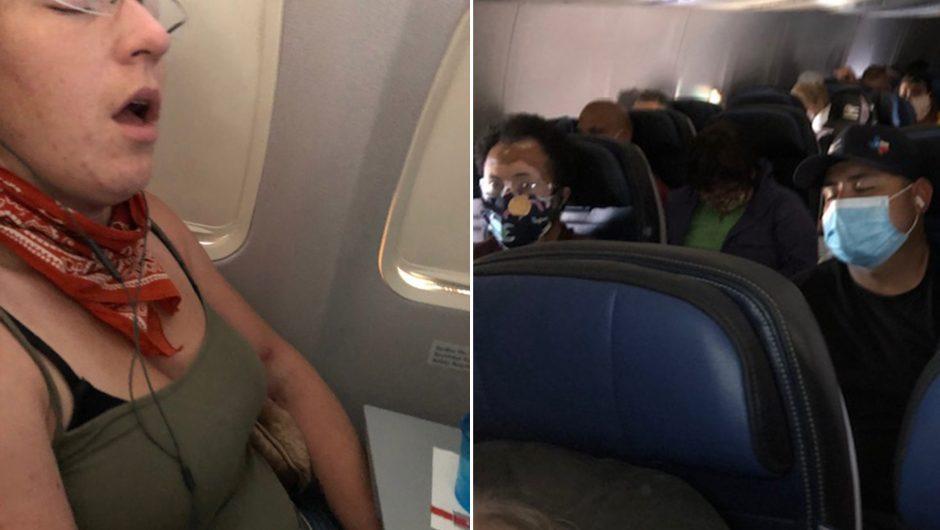 United Airlines passenger recounts packed flight amid coronavirus