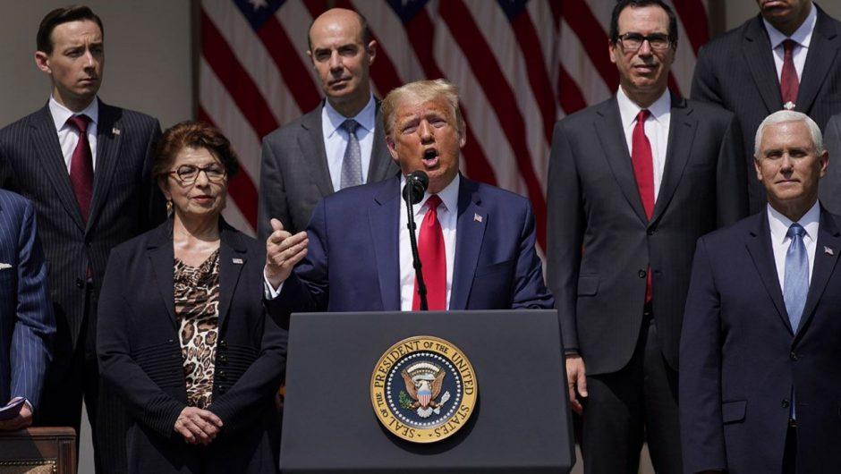 Trump praises success against coronavirus in states that are seeing cases spike