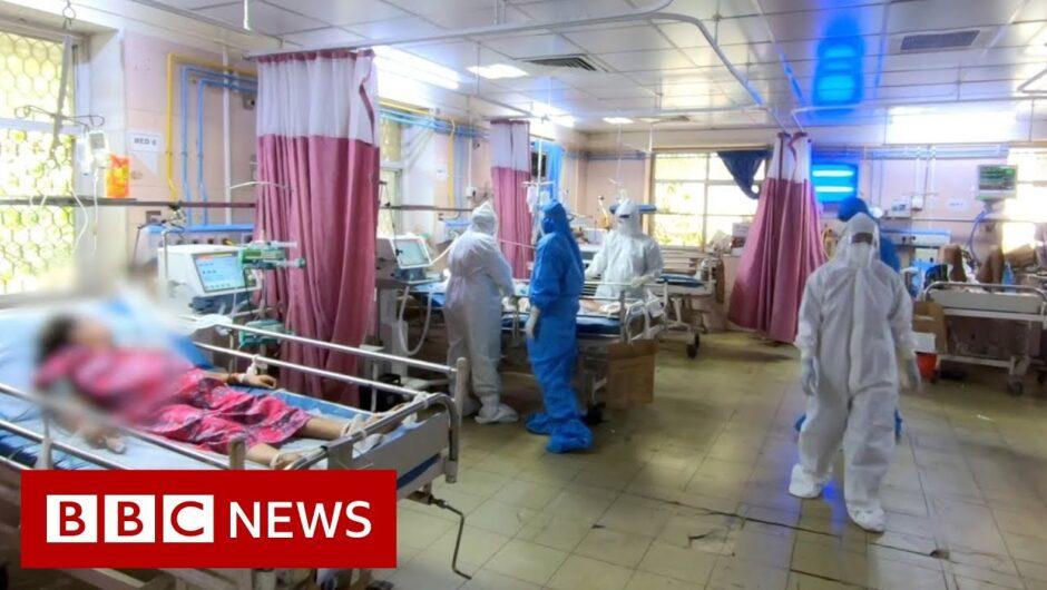 Coronavirus in India: Inside a Mumbai hospital ICU