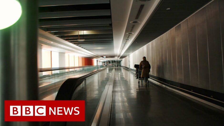 Coronavirus: Airports 'without people' – BBC News