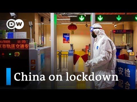 China puts millions under lockdown to contain coronavirus   DW News