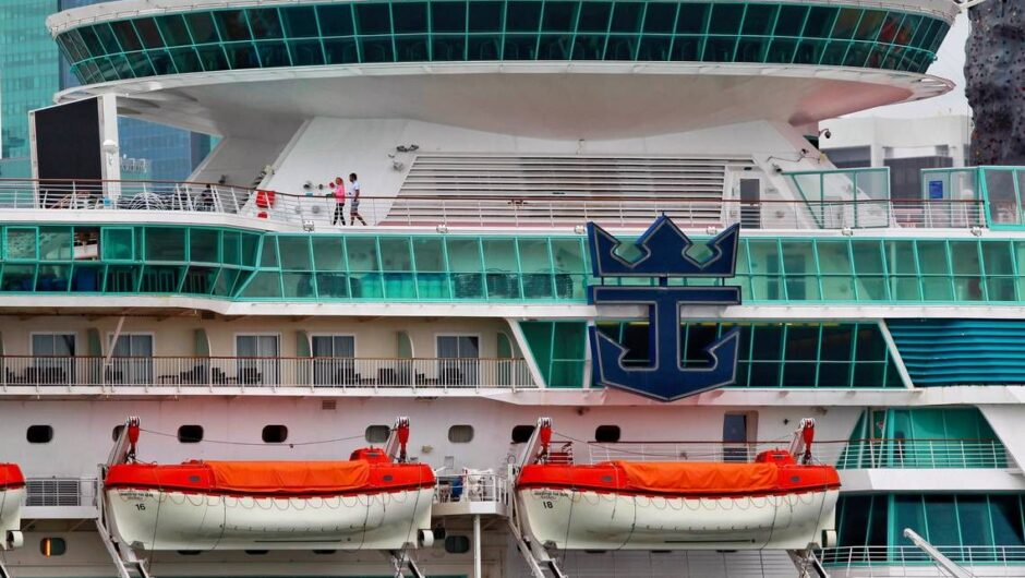 Royal Caribbean floats testing passengers for COVID-19 when cruising resumes