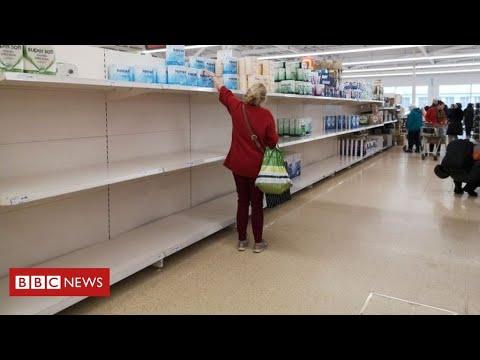 Coronavirus: retail sales suffer biggest fall since records began – BBC News