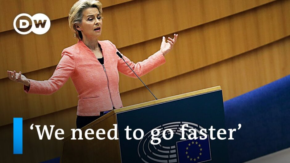 EU Chief Ursula von der Leyen delivers first 'State of the Union' speech | DW News