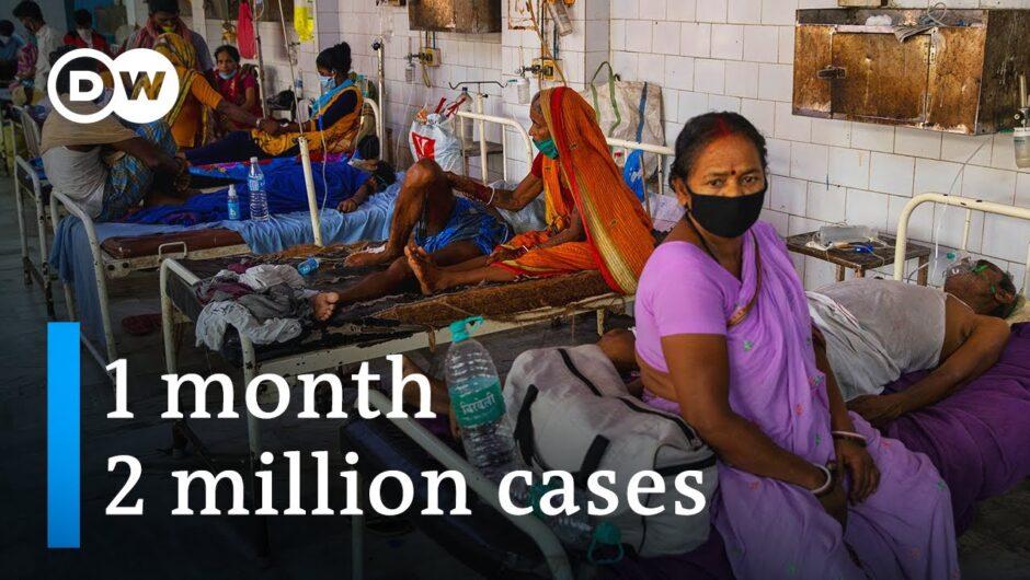 Coronavirus cases in India top 4 million   DW News