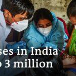 Coronavirus India: Professionals flee cities as case numbers soar | DW News