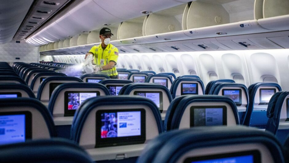 Delta pitches itself as the safe choice for pandemic travel by tackling coronavirus risks in the plane, at the security line, and on the jet bridge