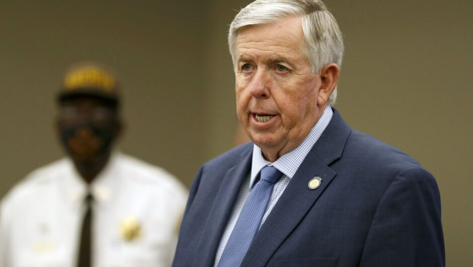 Missouri Gov. Mike Parson and wife test positive for coronavirus