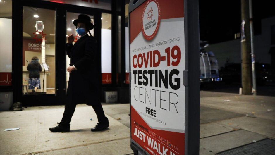 COVID-19 home testing could help contain a second wave and reopen parts of the economy