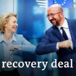 EU leaders strike deal on coronavirus recovery fund | DW News