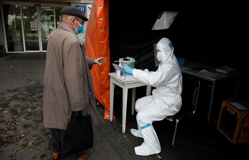 Poland's total coronavirus cases top 300,000 after new daily record