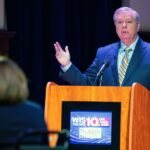 South Carolina Senate debate replaced with interviews after Lindsey Graham 'refuses Covid-19 test'