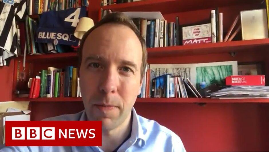 Coronavirus: UK Health Secretary Hancock also tests positive – BBC News