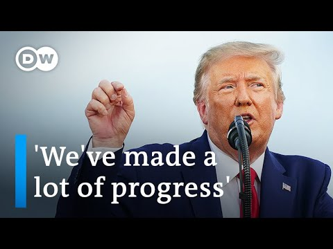 Trump gives divisive 4th of July speech as US coronavirus cases soar   DW News