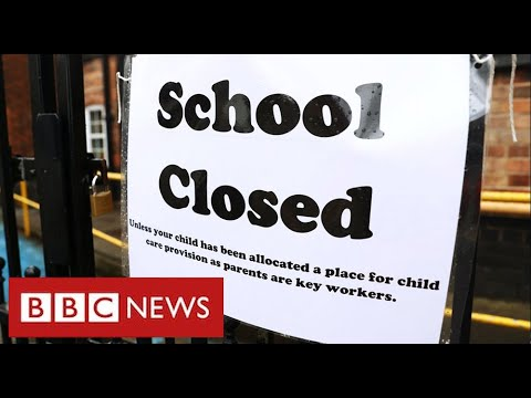 Schools closed and exams cancelled in UK for second year running – BBC News