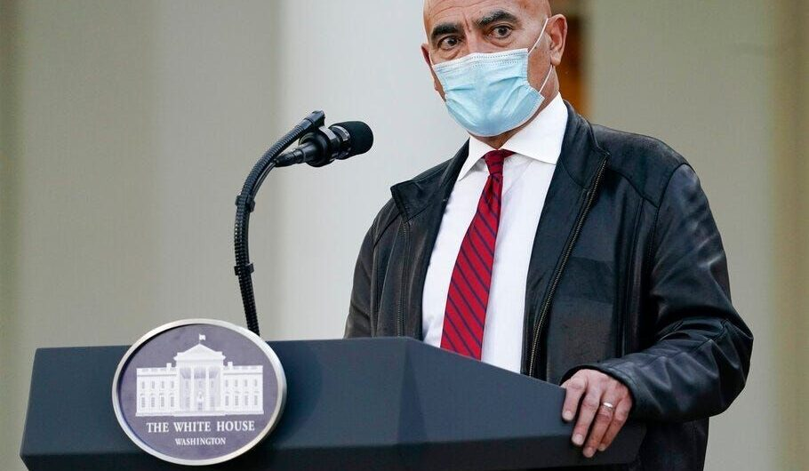 White House Operation Warp Speed chief says that coronavirus variant 'should be under control' with vaccinations