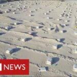 Iraq builds mass grave in the desert as coronavirus deaths surge – BBC News