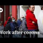 What does coronavirus unemployment mean for the future of work in the US?   DW News