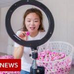 China: Teens try to break into livestream market – BBC News