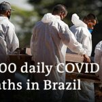 Brazil records worst daily death toll from COVID-19 | DW News