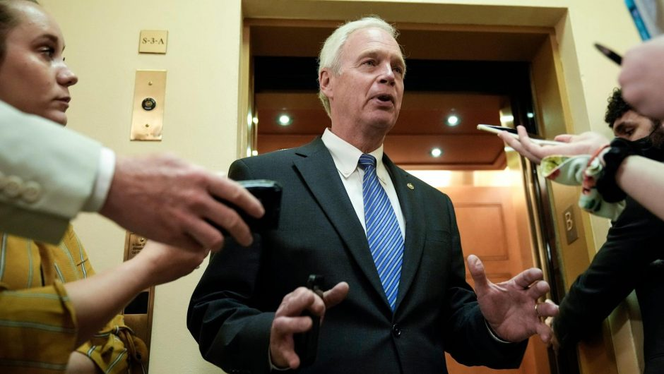 YouTube has blocked Sen. Ron Johnson for 7 days after it removed a video of him spreading coronavirus misinformation